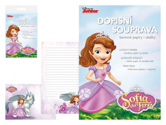 MFP papeteria LUX 5+10 Disney (Sofia the First)
