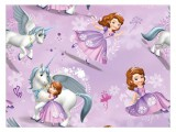 Papier do pakowania Disney Y043 (Sofia the First) 100x70 LUX