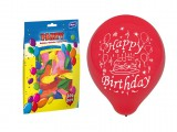 Balon M standard 23cm Happy Birthday mix